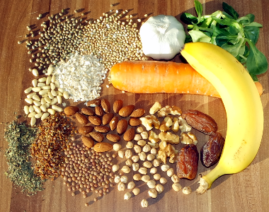 Lebensmittel mit Mangan