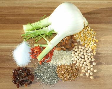 Lebensmittel mit Natrium