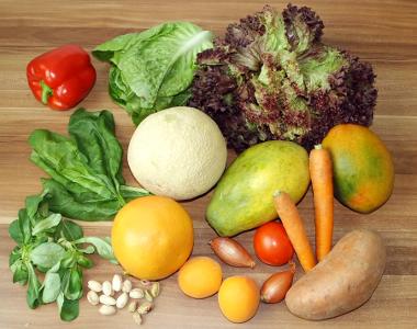 Lebensmittel mit Vitamin A