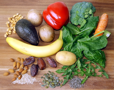 Lebensmittel mit Vitamin B9 / Riboflavin